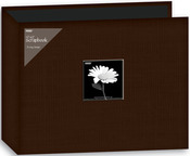 """Brown - Fabric 3-Ring Binder Album 12""""X12"""""""
