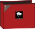 "Red - Fabric 3-Ring Binder Album 12""X12"""