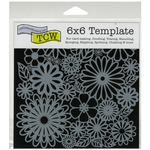 """Flower Frenzy - Crafter's Workshop Template 6""""X6"""""""