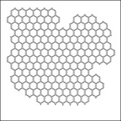 "Mini Chicken Wire - Crafter's Workshop Template 6""X6"""