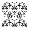 """Mini Damask - Crafter's Workshop Template 6""""X6"""""""
