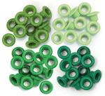 Green - Eyelets Standard 60/Pkg