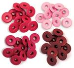 Red - Eyelets Wide 40/Pkg