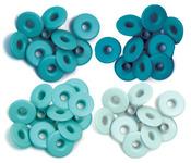 Aqua - Eyelets Wide 40/Pkg