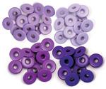 Purple - Eyelets Wide 40/Pkg