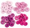 Pink - Eyelets Wide 40/Pkg