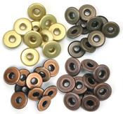 Warm Metal - Eyelets Wide 40/Pkg