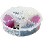 Creative Options Round Accessory Organizer