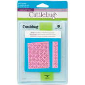 Juli's Garden - Cuttlebug A2 Embossing Folder/Border Set