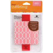 Modern Wallpaper - Cuttlebug A2 Embossing Folder/Border Set
