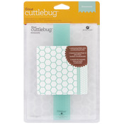 "Honeycomb - Cuttlebug 5""X7"" Embossing Folder/Border Set"