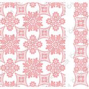 Foulard By Anna Griffin - Cuttlebug A2 Embossing Folder/Border Set