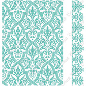 "Pirouette By Anna Griffin - Cuttlebug 5""X7"" Embossing Folder/Border Set"