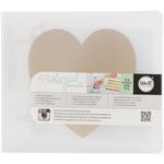 Heart Albums Made Easy 4 x 4 Ring Album - Teresa Collins