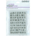 Small Typewriter Alphabet - Stampendous Perfectly Clear Stamps