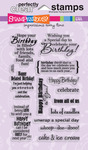 Birthday Assortment - Stampendous Perfectly Clear Stamps