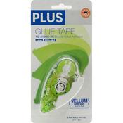 Plus Permanent Vellum Glue Tape Dispenser