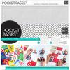 """Assortment #1 - Me & My Big Ideas Pocket Pages Protectors 12""""X12"""" 12/Pkg"""