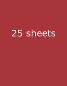 "Cherry Splash/Smoothies Cardstock 8.5""X11"" - Bazzill"