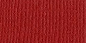 "Maraschino/Canvas Cardstock 8.5""X11"" - Bazzill"