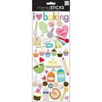 I Love Baking - Self-Adhesive Designer Chipboard
