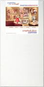 """White 12""""X24"""" - Fancy Back Decor Canvas 2/Pkg"""