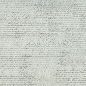 "French Script Ivory - Tissuestock Printed 12""X12"" 10/Pkg"