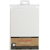 """White - Value Pack Cards & Envelopes 4""""X5.5"""" 50/Pkg"""