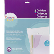 Tabbed Dividers With Labels - Cropper Hopper  - Advantus