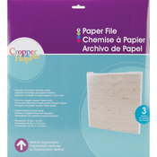Cropper Hopper Paper Files W/Tabbed Dividers & Labels