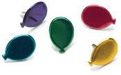 Balloons - Metallic - Painted Metal Paper Fasteners 50/Pkg