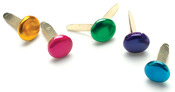 Round - Metallic - Painted Metal Paper Fasteners 7mm 50/Pkg