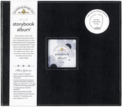 "Beetle Black - Storybook Album 12""X12"""