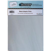 "For Use W/Thin Metal Etched Dies - eBosser Metal Adapter Plate 8.5""X12"""