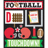 Red Football - Life's Little Occasions Sticker Medley