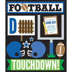 Blue Football - Life's Little Occasions Sticker Medley