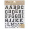 Black - Life's Little Occasions Alphabet Die-Cut Stickers