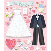 Wedding Dress Shop Life's Little Occasions Stickers