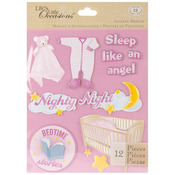 Baby Girl Bed - Life's Little Occasions Sticker Medley