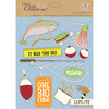 Fishing - Life's Little Occasions Sticker Medley