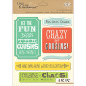 Cousins - Life's Little Occasions Sticker Medley