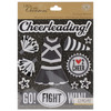 Black & White Cheerleading - Life's Little Occasions Sticker Medley