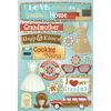 Classic Grandma - Cardstock Stickers