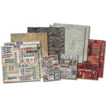 "Military Life - Scrapbook Page Kit 12""X12"""