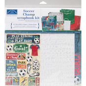 "Soccer Champ - Scrapbook Page Kit 12""X12"""