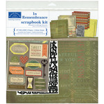 In Remembrance Scrapbook Page Kit
