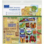 "Kids' Ancestry - Scrapbook Page Kit 12""X12"""