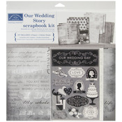 "Our Wedding Story - Scrapbook Page Kit 12""X12"""