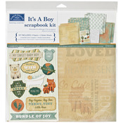 "It's A Boy - Scrapbook Page Kit 12""X12"""