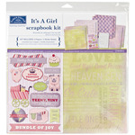 "It's A Girl - Scrapbook Page Kit 12""X12"""